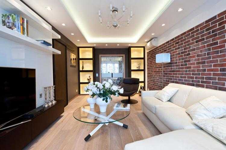 Квартира «Московский лофт» - дизайн интерьера