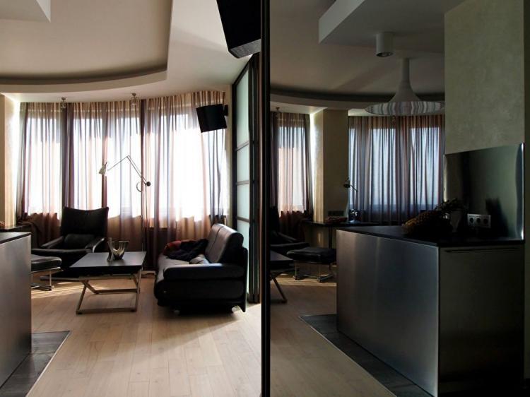 Квартира на Карамышевской набережной - дизайн интерьера