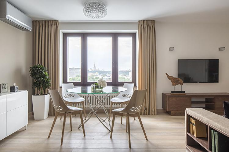 Квартира на Саввинской набережной - дизайн интерьера