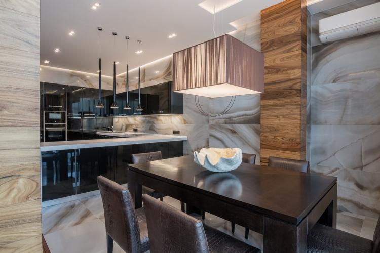 Квартира на ул. Лесной, 140 кв.м. - дизайн интерьера