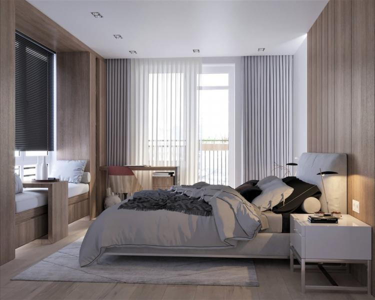 Квартира «Natural minimalism» - дизайн интерьера
