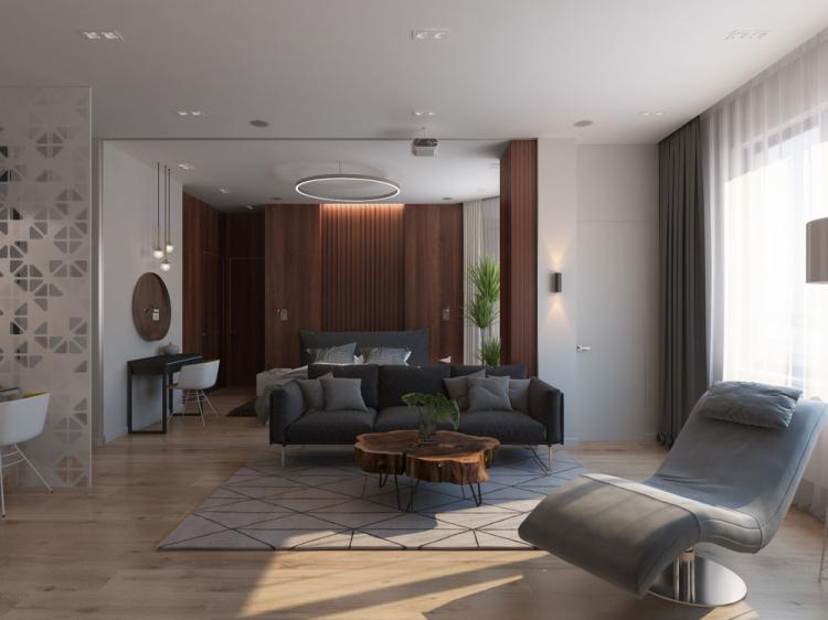Квартира «Объединяя пространства»