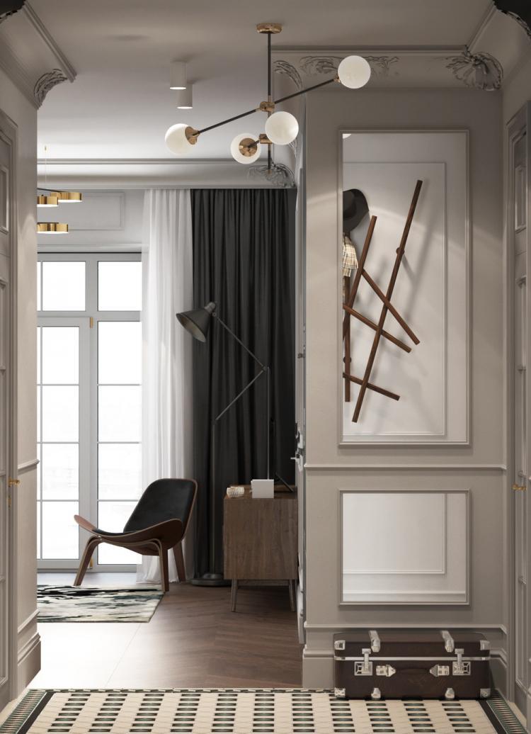 Квартира «Окно в Европу» - дизайн интерьера
