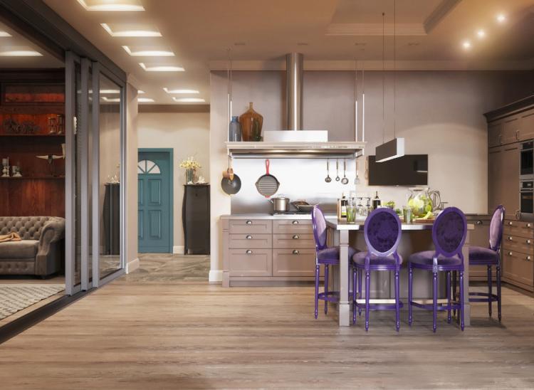 Квартира «Переменчивое настроение» - дизайн интерьера