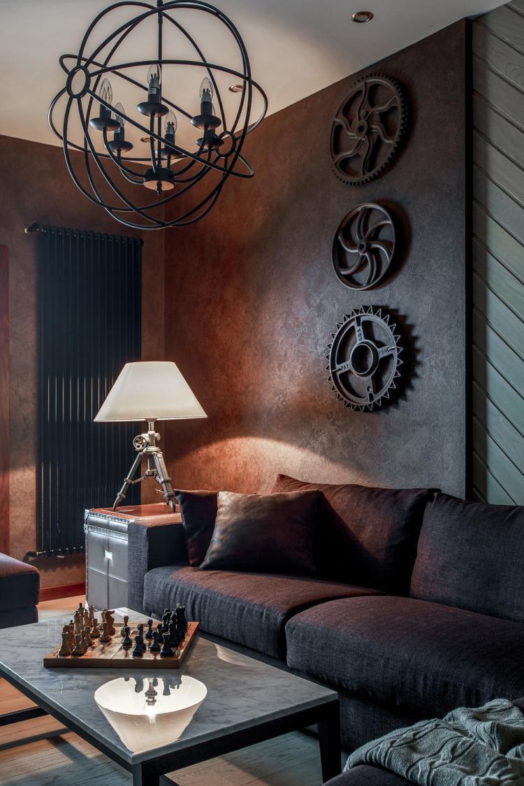 Квартира «Про яркие акценты» - дизайн интерьера