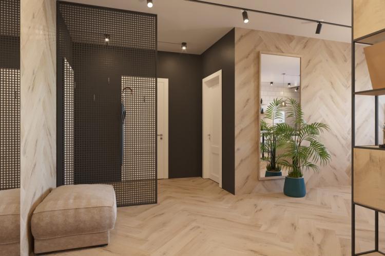 Квартира «Скандинавский лофт» - дизайн интерьера
