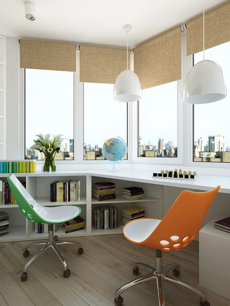 Квартира у метро Алексеевская, 90 кв.м. - дизайн интерьера