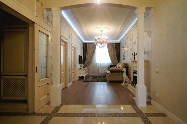 Квартира в классическом стиле - дизайн интерьера