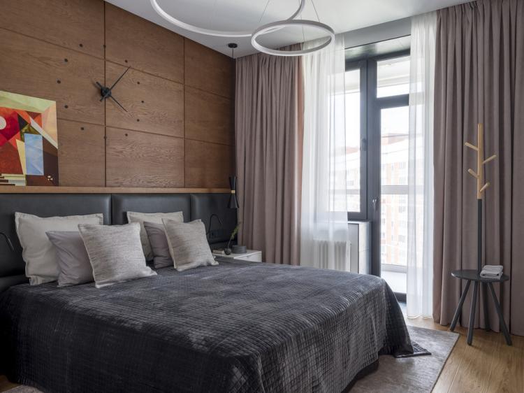 Квартира в современном стиле, 109 кв.м. - дизайн интерьера