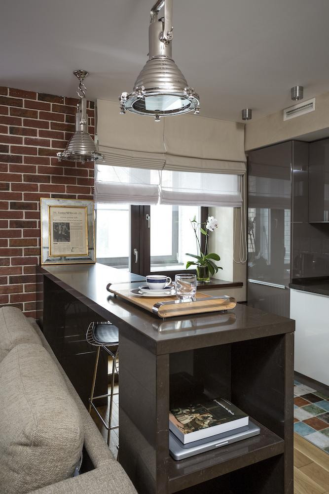 Квартира в стиле лофт - дизайн интерьера