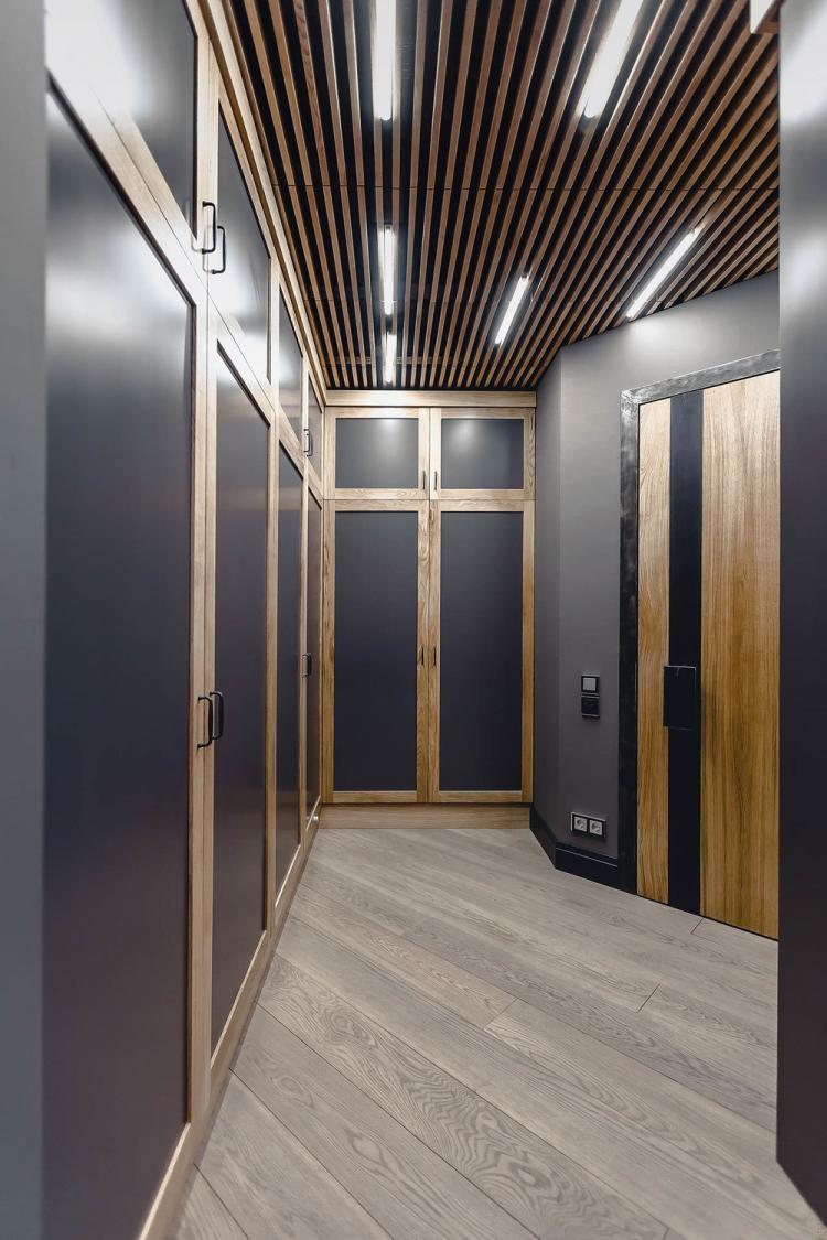 Квартира в стиле лофт, 78 кв.м. - дизайн интерьера