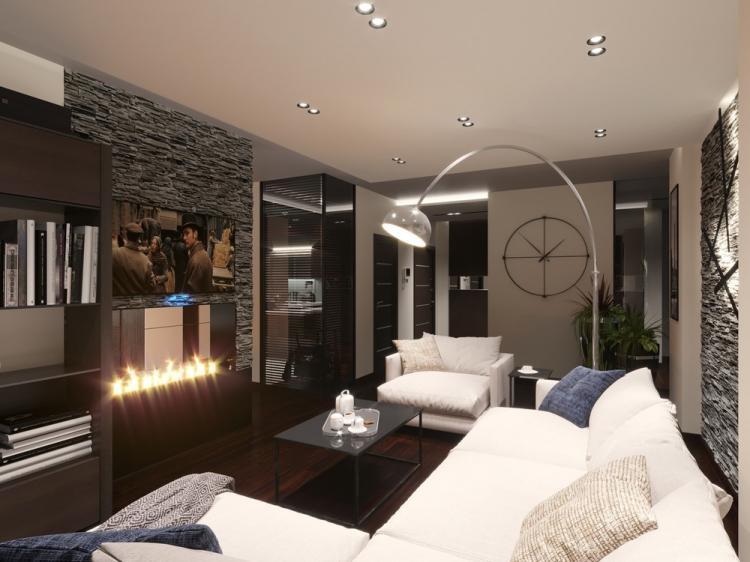Квартира в стиле модерн - дизайн интерьера