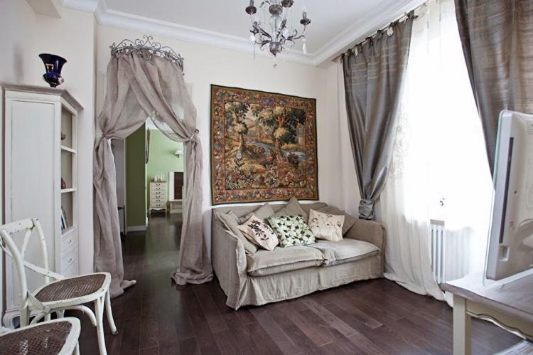 Квартира в стиле шебби-шик
