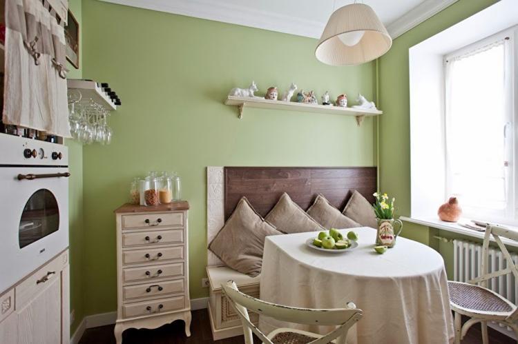 Квартира в стиле шебби-шик - дизайн интерьера