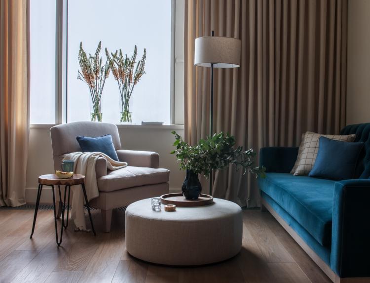 Квартира в ЖК «Дом на Мосфильмовской» - дизайн интерьера