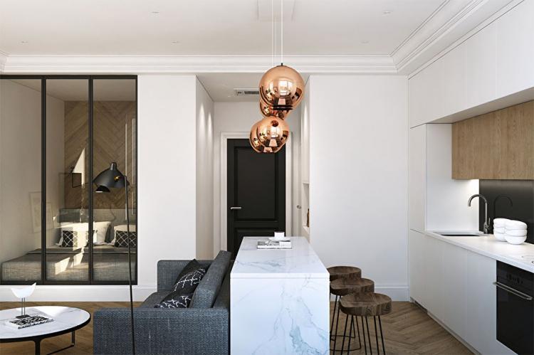 Квартира в ЖК «Филиград» - дизайн интерьера