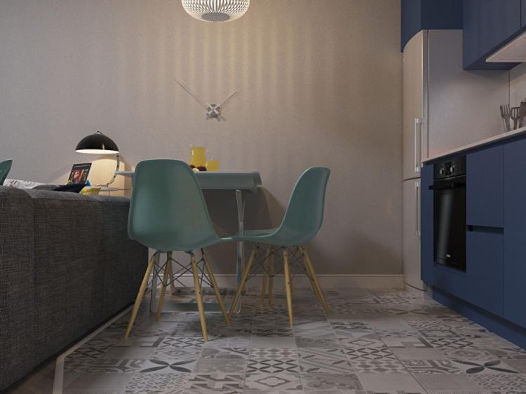 Квартира в ЖК «Грюнвальд» - дизайн интерьера