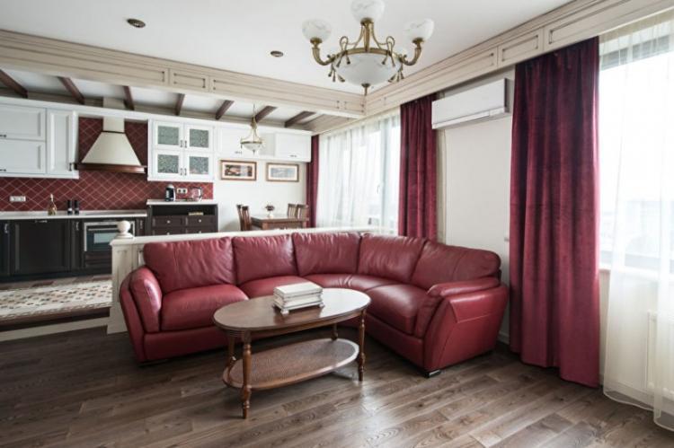 Дизайн квартиры, ЖК «Нескучный сад»