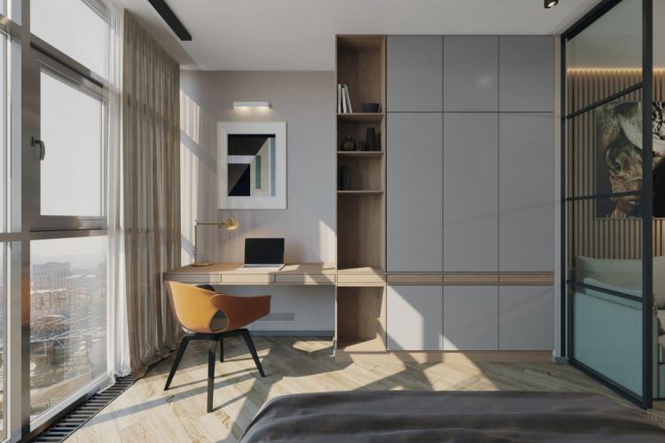 Квартира в ЖК «Sky Skolkovo» - дизайн интерьера