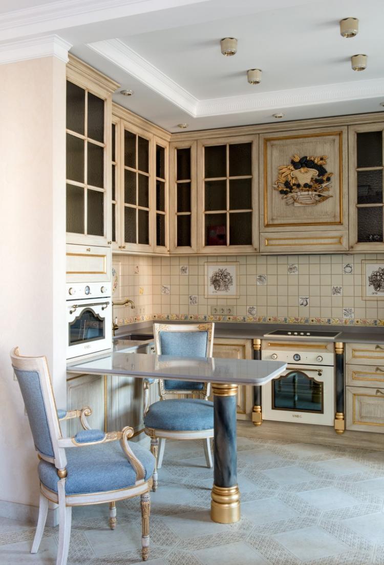 Квартира в ЖК «Соловьиная роща», 120 м2 - дизайн интерьера
