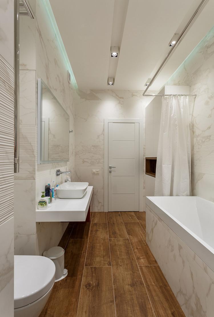 Квартира в ЖК «Юнион Парк» - дизайн интерьера