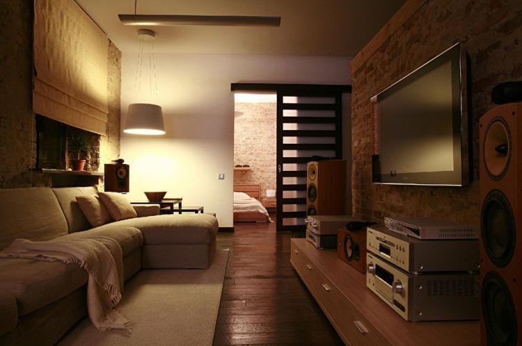 Квартира «Жизнь в стиле лофт» - дизайн интерьера