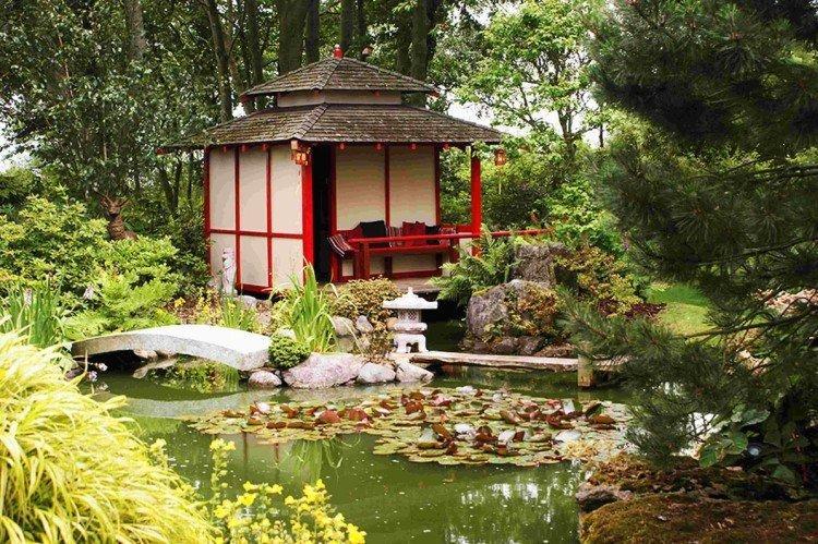 Японский и китайский стили - Стили ландшафтного дизайна дачного участка