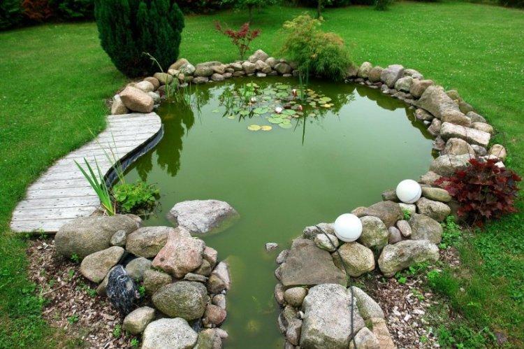 Водоемы и фонтаны - Ландшафтный дизайн дачного участка фото