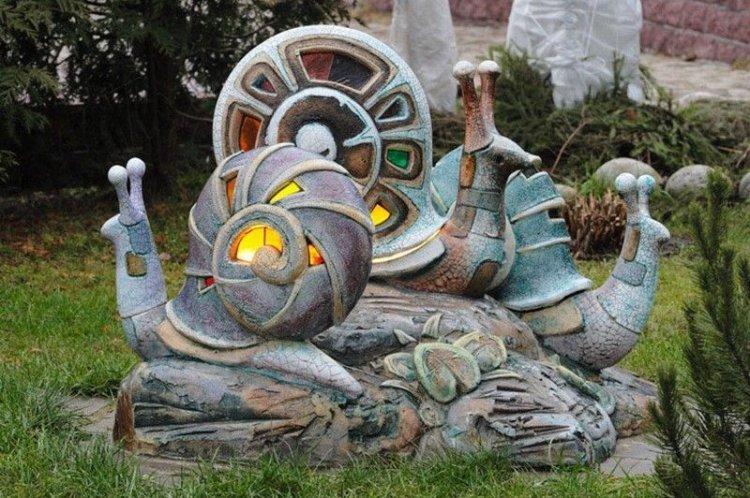 Скульптуры и фигурки - Ландшафтный дизайн дачного участка фото