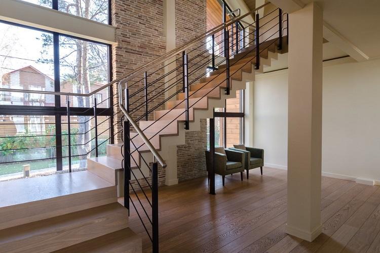 Маршевые лестницы - Виды лестниц на второй этаж