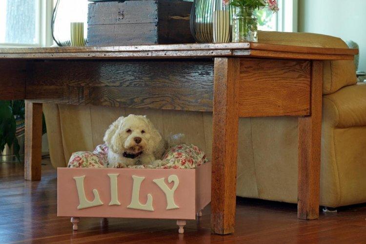 Лежанка из фанеры на ножках - Лежанка для собаки своими руками