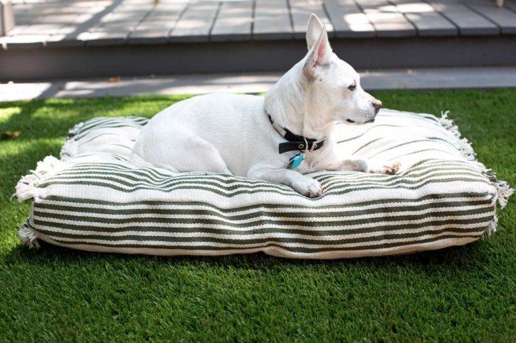 Лежанка в чехле - Лежанка для собаки своими руками