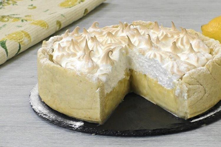 Лимонный пирог с меренгой - рецепты