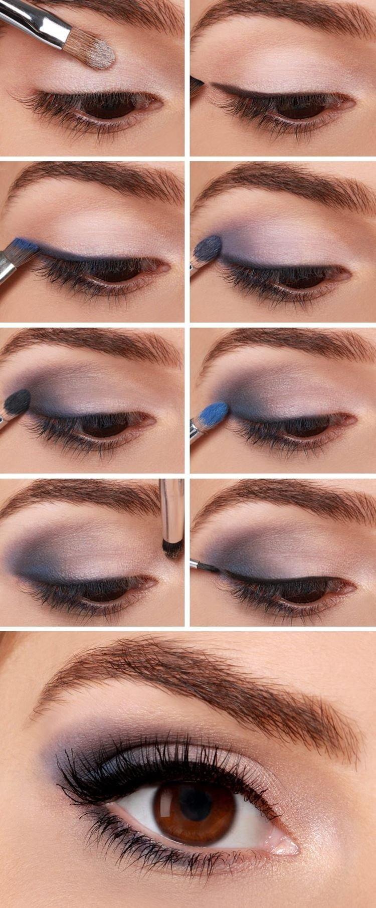Макияж для карих глаз и рыжих волос