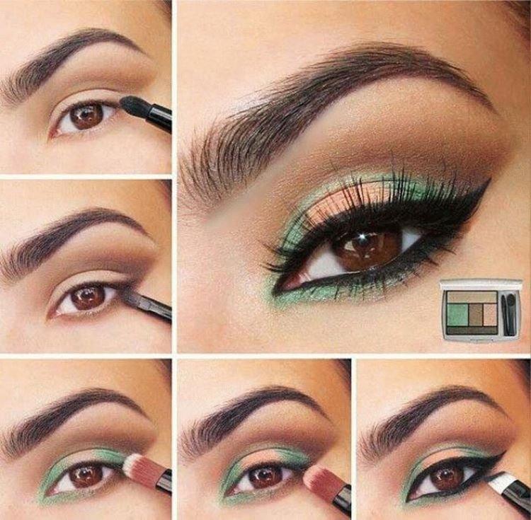 Макияж для карих глаз - пошаговые фото