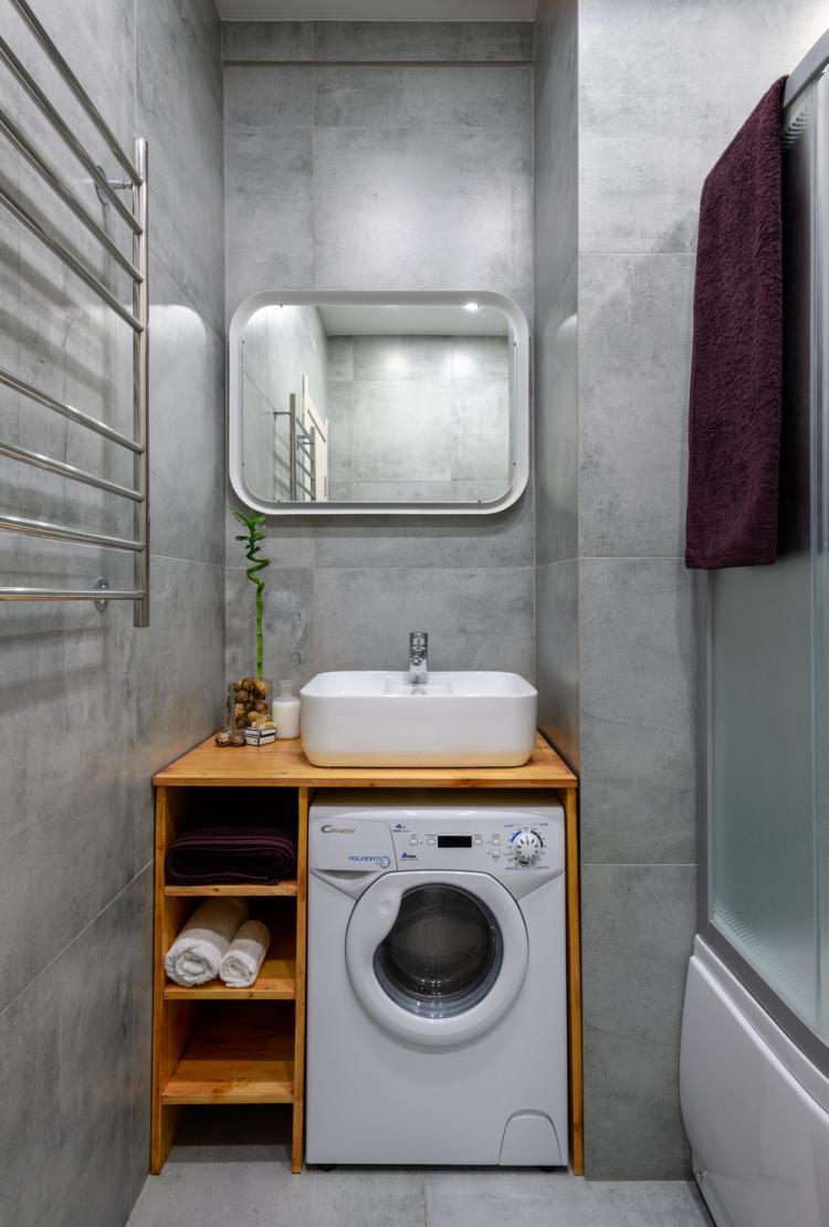 Маленькая квартира-студия для студента - дизайн интерьера