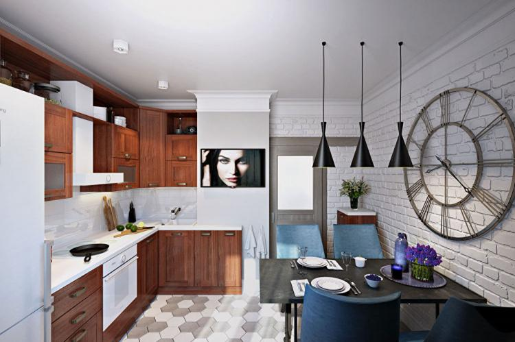 «Маленькое счастье»: Дизайн-проект квартиры