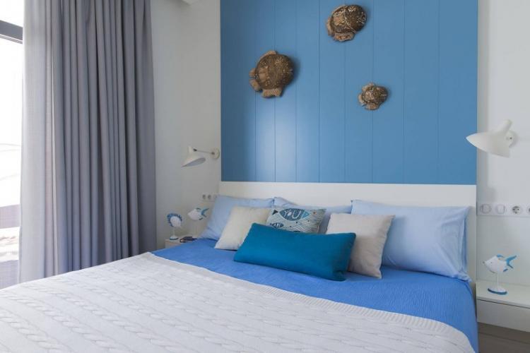 МДФ панели в спальне
