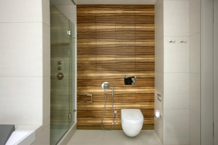 МДФ панели в ванной - фото