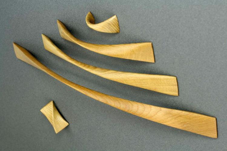 Дерево - Материалы для мебельных ручек