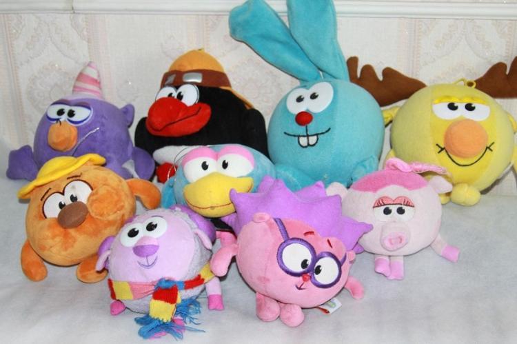 Смешарики - Мягкие игрушки своими руками