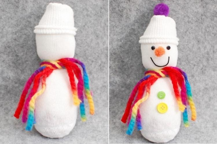 Снеговичек - Мягкие игрушки своими руками