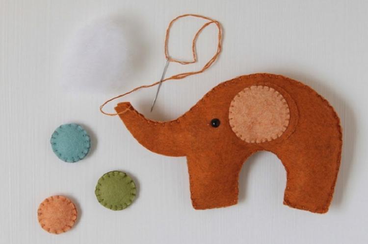 Маленькие слонята - Мягкие игрушки своими руками