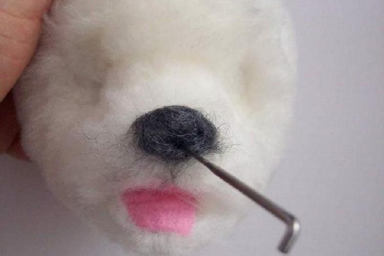 Щенок из меха - Мягкие игрушки своими руками
