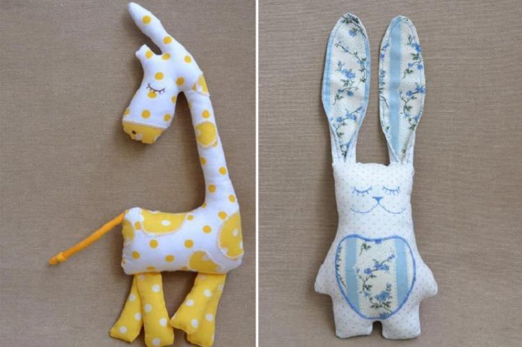 Забавное трио - Мягкие игрушки своими руками