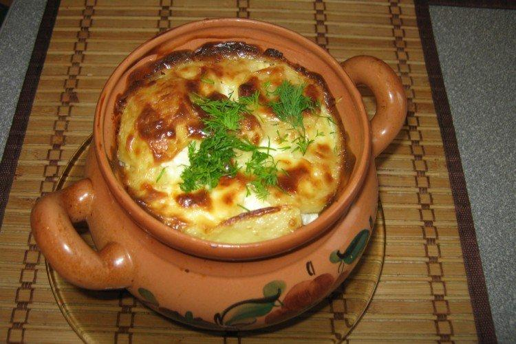Мясо в горшочках с картошкой - рецепты пошагово
