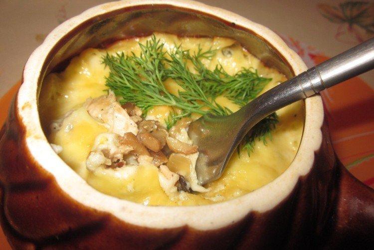 Мясо в горшочках с картошкой, сливками и имбирем - рецепты пошагово