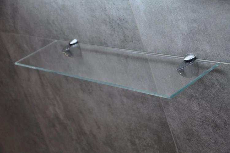 Декоративные кронштейны-зажимы - Виды креплений для настенных полок