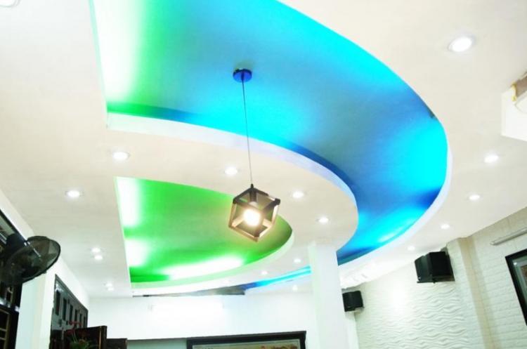 Декоративная подсветка - Освещение и подсветка натяжного потолка в прихожей