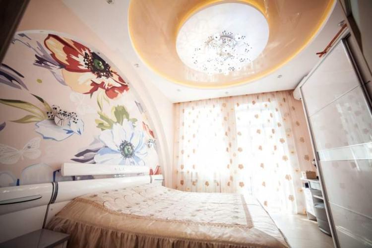 Декоративная подсветка - Освещение и подсветка натяжного потолка в спальне